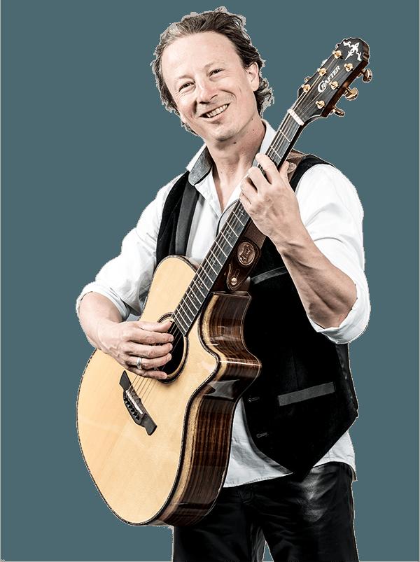 Posing mit Gitarre