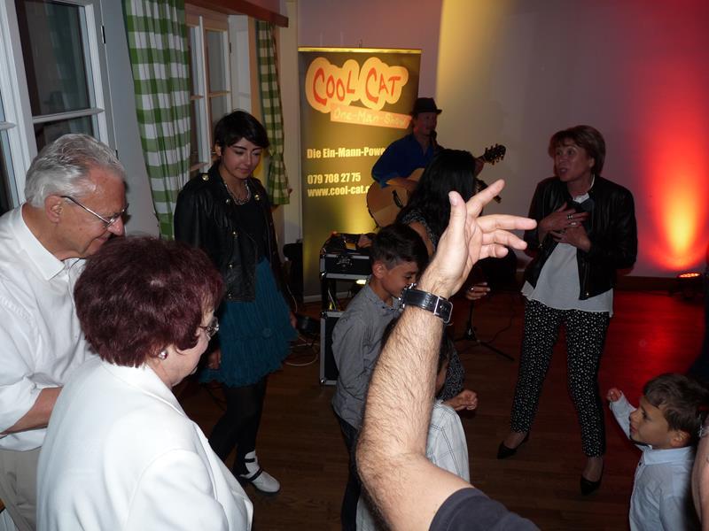 Alleinunterhalter und Musik Geburtstagsparty Zürich