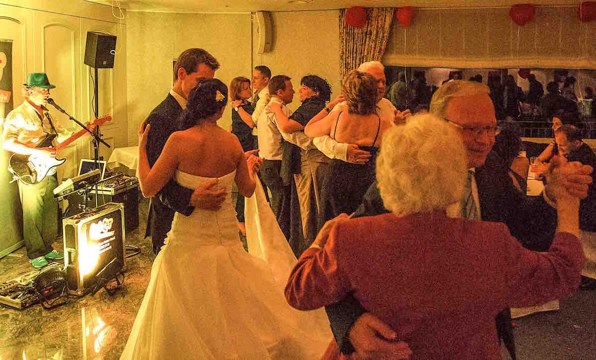 Alleinunterhalter CoolCat Hochzeitstanz