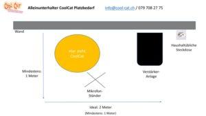 Grafik Alleinunterhalter CoolCat Platz