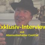Alleinunterhalter CoolCat gibt Interview