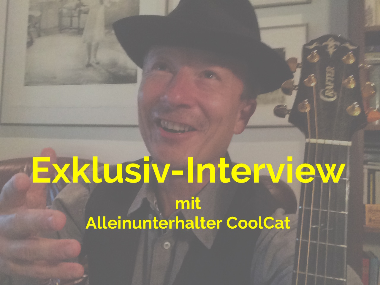 Alleinunterhalter CoolCat gibt Interview