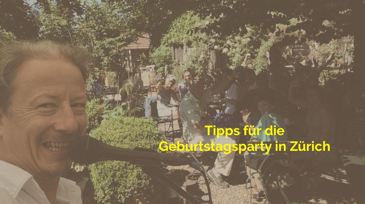 Tipps Geburtstag in Zürich