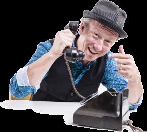 Alleinunterhalter CoolCat | Am Telefon